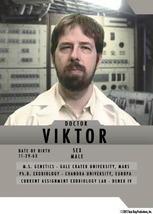 Dr. Viktor character card